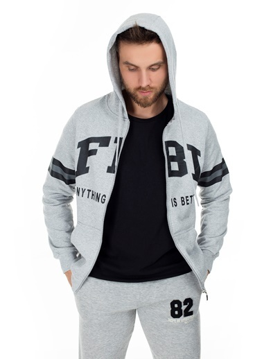 Fbi Sweatshirt Gri